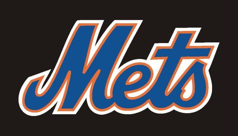 New York Mets Logo Sticker Decal 3 #44a
