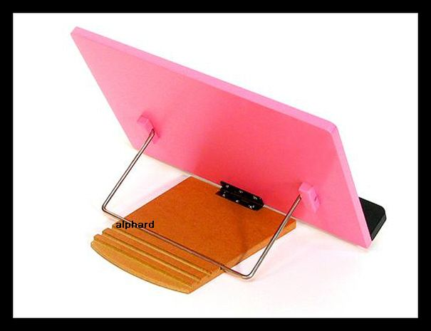 Very Beautiful & High Quality Book Stand from Korea [Pink Flower