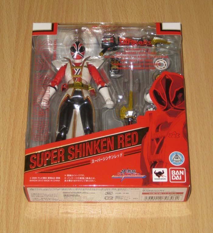 Bandai SH Figuarts(SHF) Samurai Sentai Shinkenger Super Shinken Red