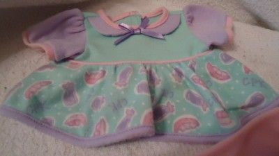 VINTAGE TODDLER CPK CABBAGE PATCH KIDS GIRL DOLL OUTFIT DRESS TIGHTS