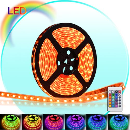 Multi Color LED Light Strip String Rope 5 Metrs 16 Feet Remote control